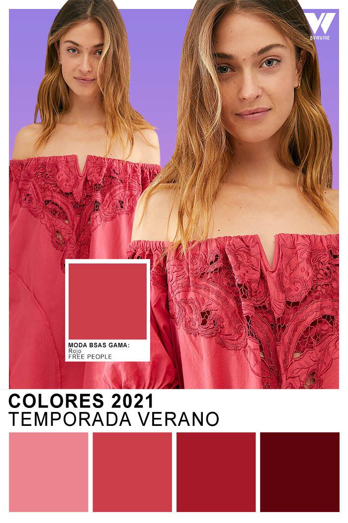 Colores de moda primavera verano 2021