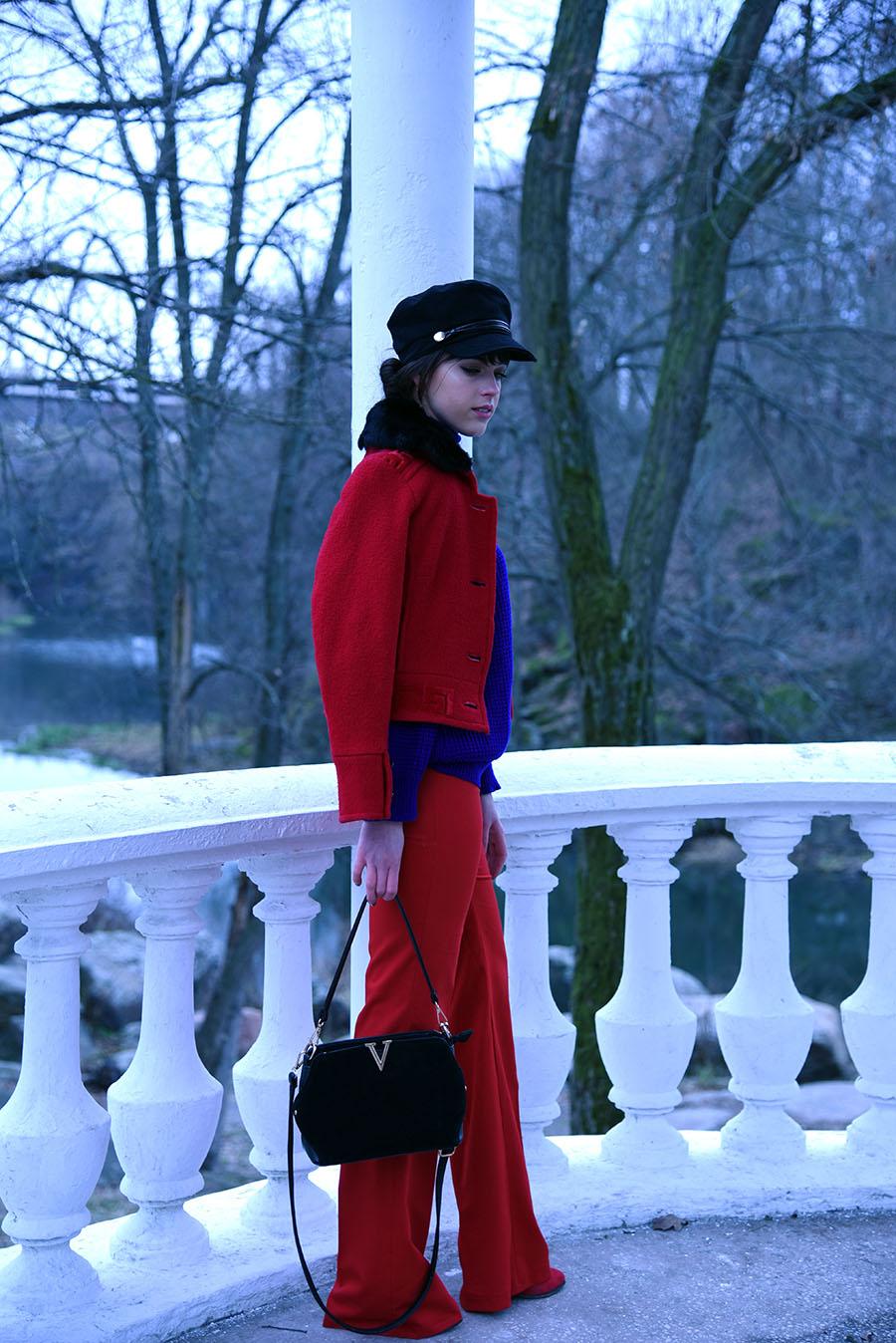 красный наряд