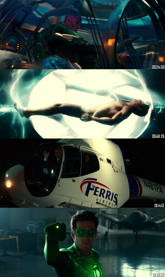 Green Lantern 2011 BRRip 720p 480p Dual Audio Hindi English Full Movie Download