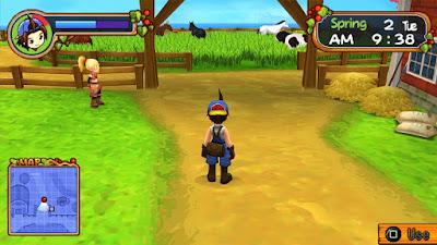 Harvest Moon Hero of Leaf Valley (USA) ISO PSP Terbaru