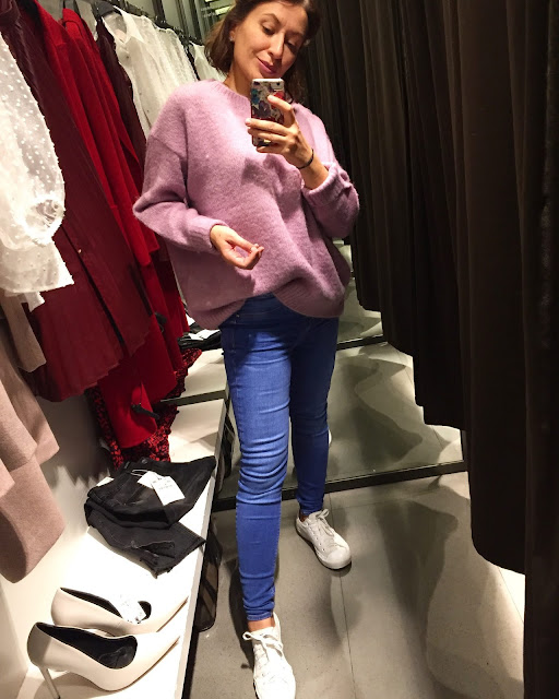 Adriana Style Blog, Autumn Wish List, blog modowy Puławy, Czerwień. Bordo, Kozaki, Moja Jesienna Wish Lista, Plisowana Spódnica, Płaszcz, Róż, Sukienka Maxi, Swetr, Zara