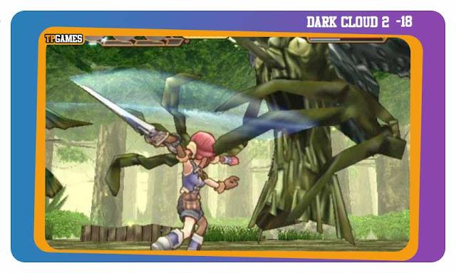 لعبة DARK CLOUD 2