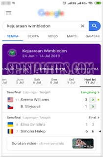 Cara Memainkan Game Tenis Google Di Smartphone Android/iOS