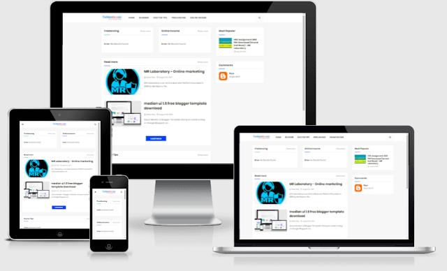 tech blogger template download