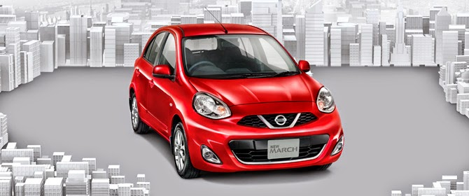 NEW NISSAN MARCH RED 1500CC