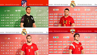 PES 2020 European National Teams Sponsor Logos