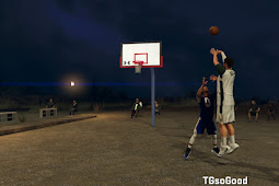 NBA 2K20 Outdoor Environment Dirt Court v2 (Late Night Lighting) by TGSoGood
