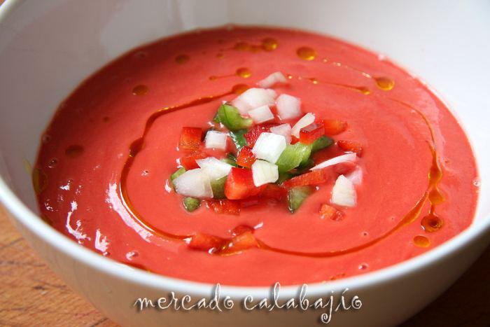 Gazpacho con remolacha receta