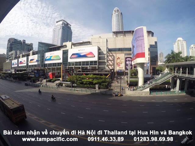 Bài cảm nhận về chuyến đi Hà Nội đi Thailand tại Hua Hin và Bangkok