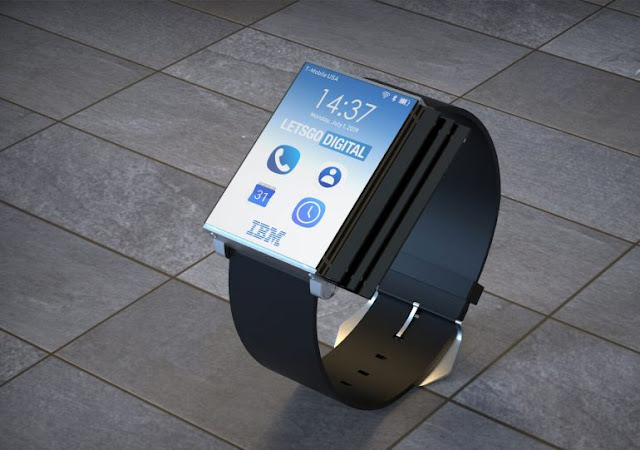 When foldable tech goes mad: IBM patents crazy folding smartwatch