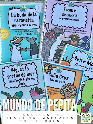 Printable Resources for Teaching Languages to Children