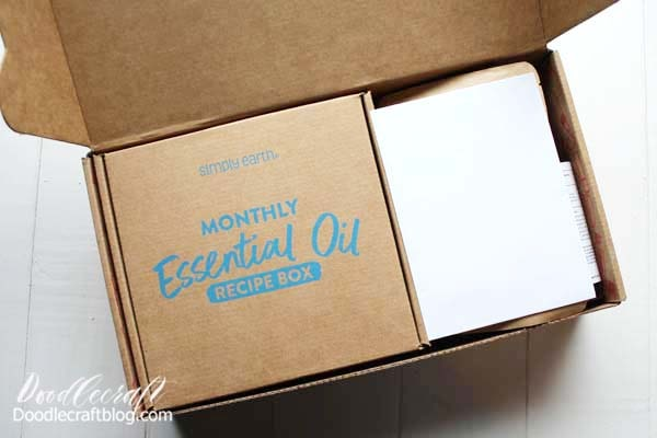 Also inside the Big Bonus Box is the Monthly Essential Oil Recipe Box. This is the monthly subscription box that will come every month, featuring a new theme. March is all about Beauty!