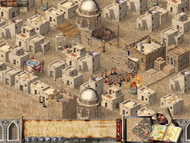 Stronghold Crusader HD Free Download Full Version Gameplay 1
