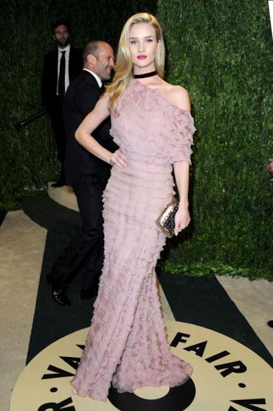 Roshie Huntingon - Whiteley wore Valentino Dress - 2013 Vanity Fair Oscar Party