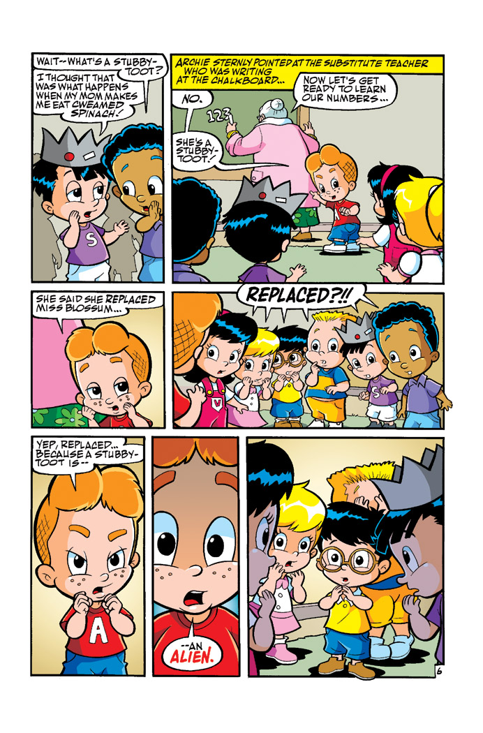 Matt Herms Comic Art And Illustration The Archie Babies