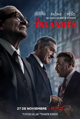 EL IRLANDÉS - Poster de la película en España