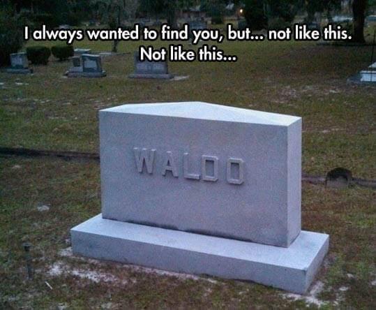 Where's Waldo meme