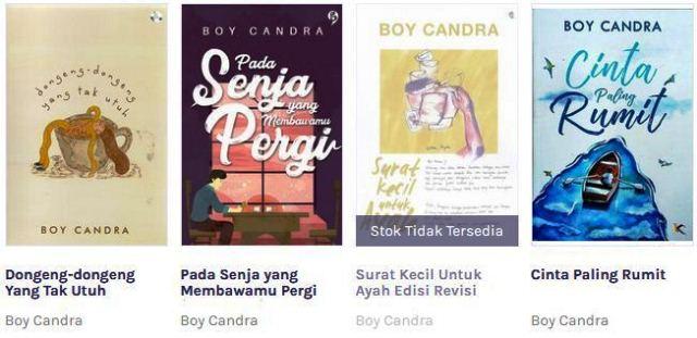 Download Buku (Ebook Gratis) Karya Boy Candra PDF Lengkap