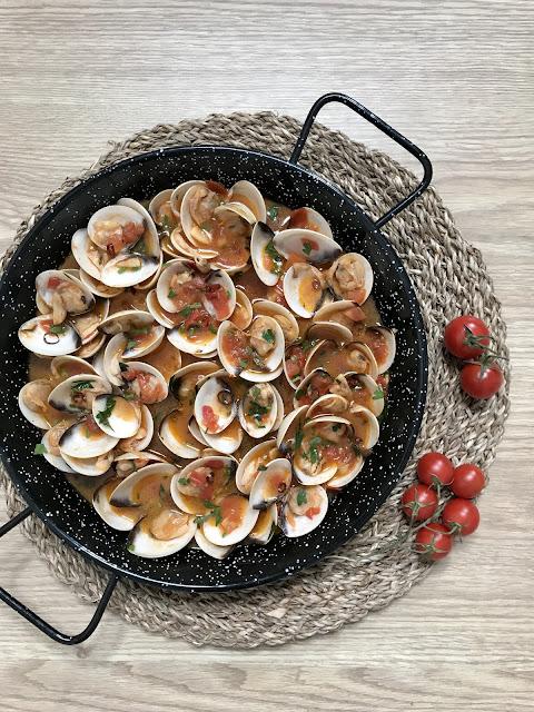 RECETAS CON ALMEJAS y BERBERECHOS ¡4 Aperitivos Fáciles y Deliciosos! Especial NAVIDAD