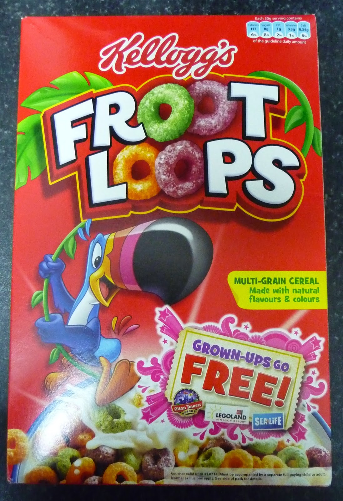 Something to look forward to: Kellogg's Froot Loops