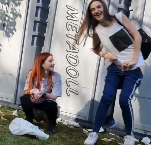 Voyeur toilet: Girls Gotta Go 179 (Drunk spanish girls