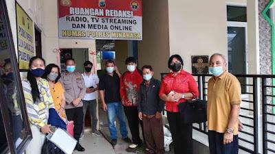 Saat Diskusi, Tim PPA Tampil diRadio Bhayangkara Polres Minahasa
