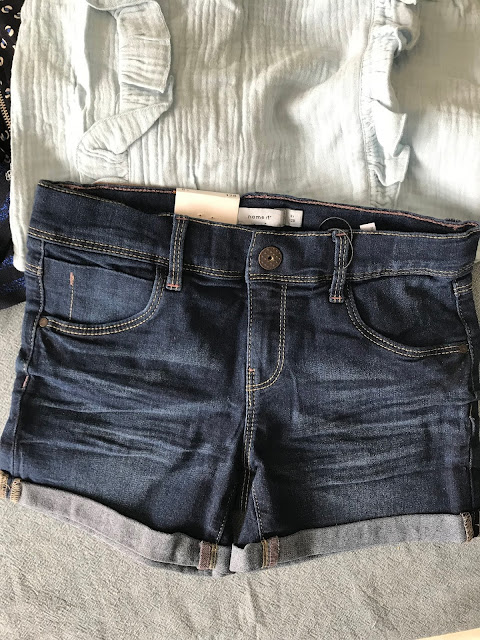 short en jean Name it - malle little cigogne
