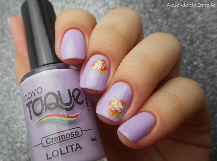 Esmalte Novo Toque - Lolita + Adesivo Born Pretty Store