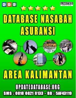 Jual Database Nasabah Asuransi Jawa Tengah