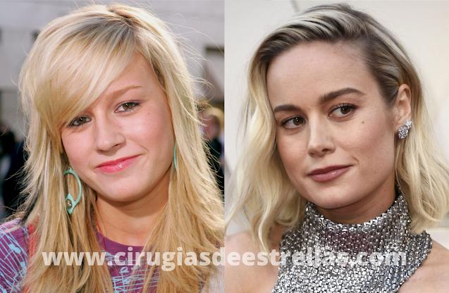 Brie Larson antes y después