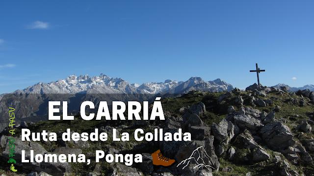 Pico Carriá en Ponga, Asturias