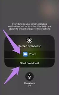 Cara Share Video Audio di Zoom Meeting