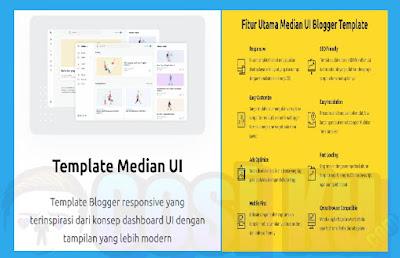 Template Median Ui Yang Terbaik Untuk Blogger Pemula