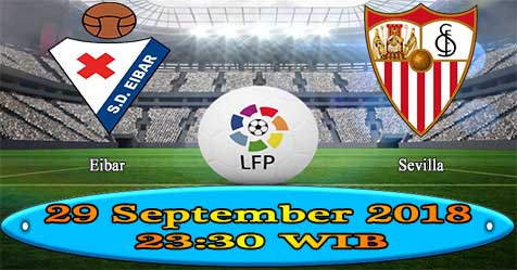 Prediksi Bola855 Eibar vs Sevilla 29 September 2018