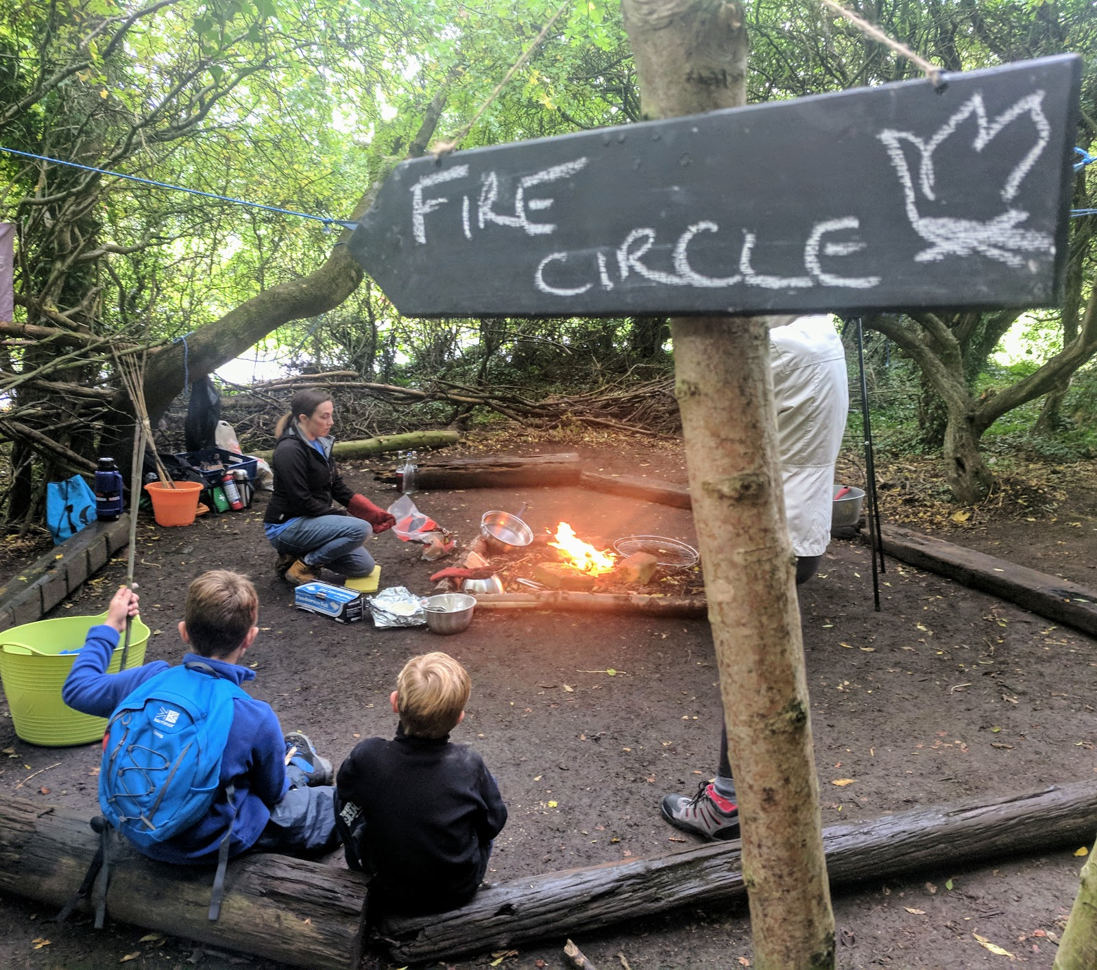 Plessey Woods Art Trail & New Play Park  - Forest School