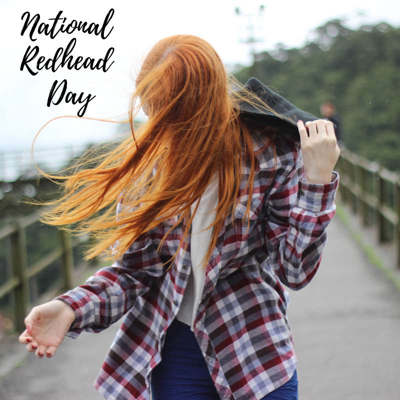 National Redhead Day Wishes Unique Image