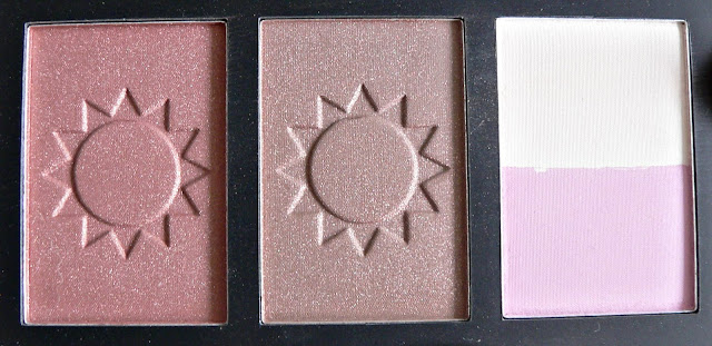 'Bronzed Radiance' Technic Bronzing Palette review swatches