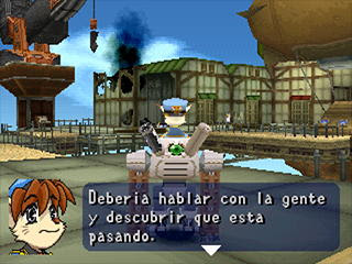 Tail Concerto 1999 PS1 spanish
