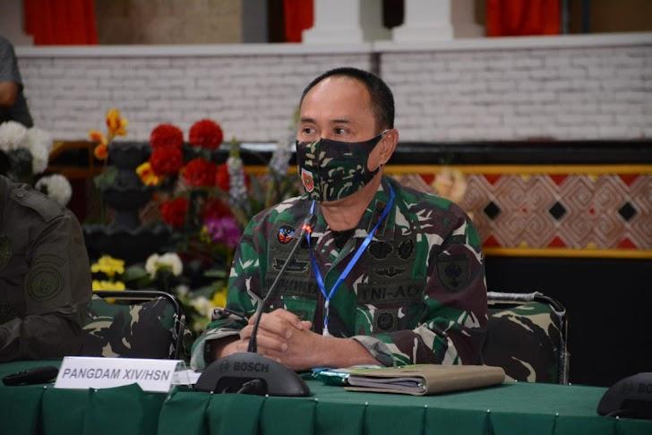 Pangdam Hasanuddin Ajak Insan Media Bantu Tangani Covid -19