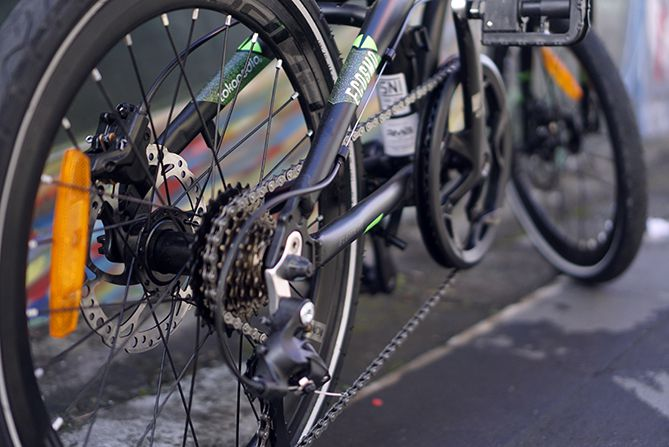 Spesifikasi sepeda lipat Ecosmo 8