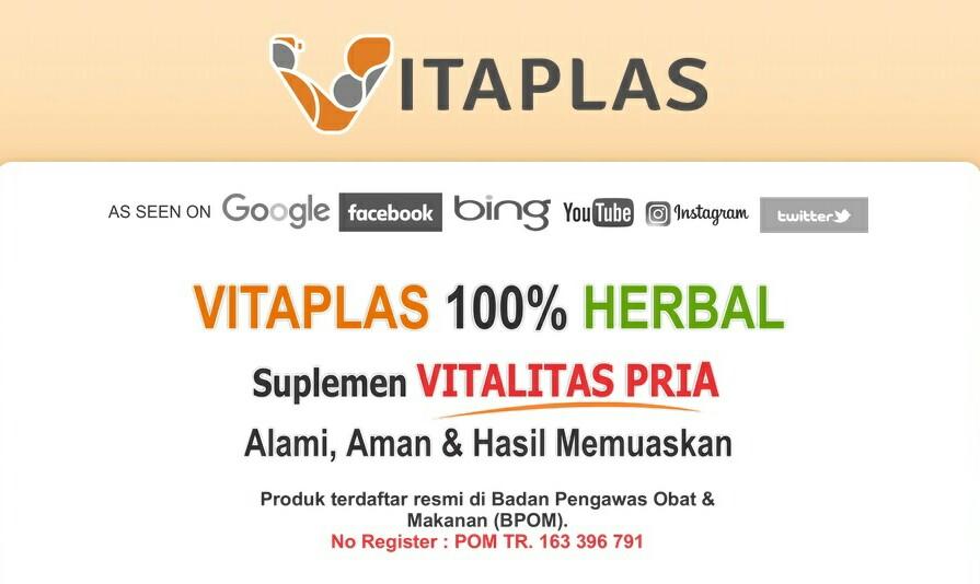 herbal alami suplemen vitalitas pria yang aman dan halal