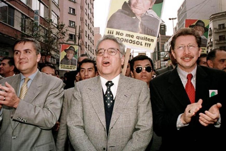 Oposicion Boliviana contratara sicarios para hacer respetar el NO del 21 de febrero