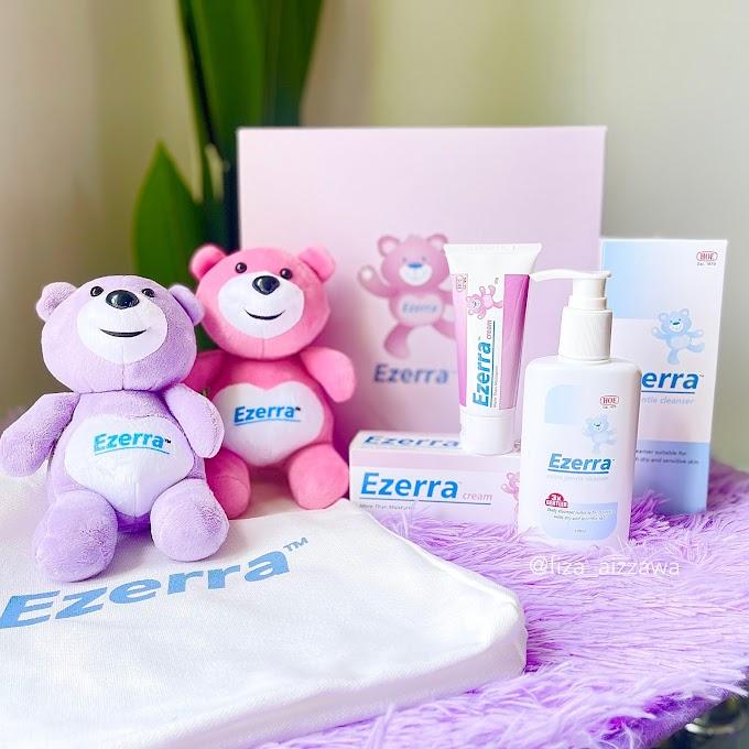 Review Ezerra Baby Skincare, bantu kurangkan gatal dan kerengsaan kulit bayi