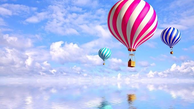 Plano de Fundo Celular Balão de Ar Quente