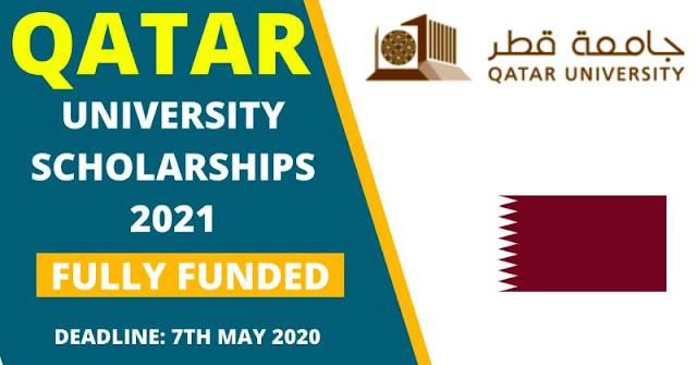 اعلان عن تقديم منح ممولة بالكامل من طرف جامعة قطر 2021-2022
