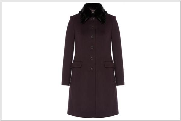 Sydney Fashion Hunter - The Weekly Wrap #35 - Jigsaw Oslo Coat Berry