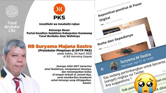 In Memoriam: Raden Bagus Suryama Majana Sastra