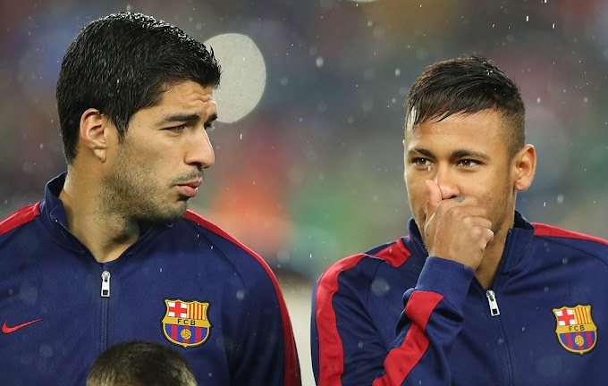 Neymar and Suarez set to reunite as PSG reportedly monitor striker's situation at Barcelona