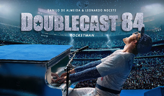 doublecast podcast filme rocketman elton john critica trilha sonora