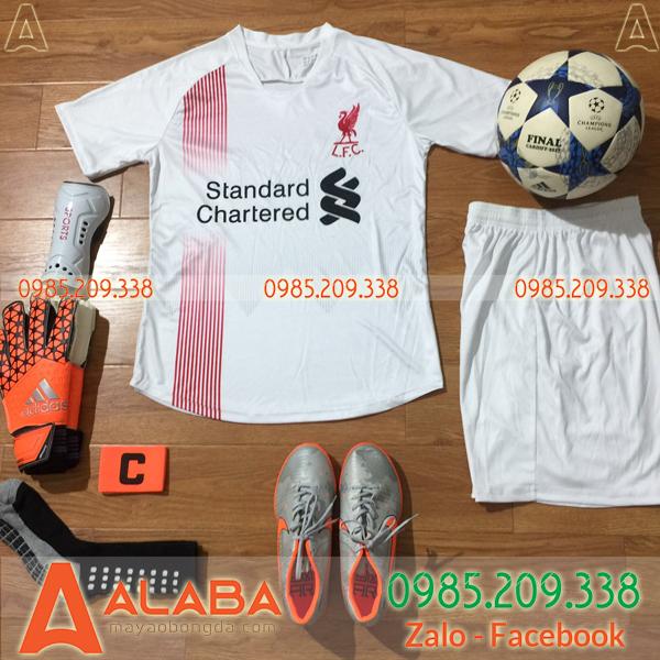 Áo bóng đá CLB Liverpool 2019 màu trắng